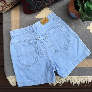 Vintage Lee 90s High Rise Mom Shorts